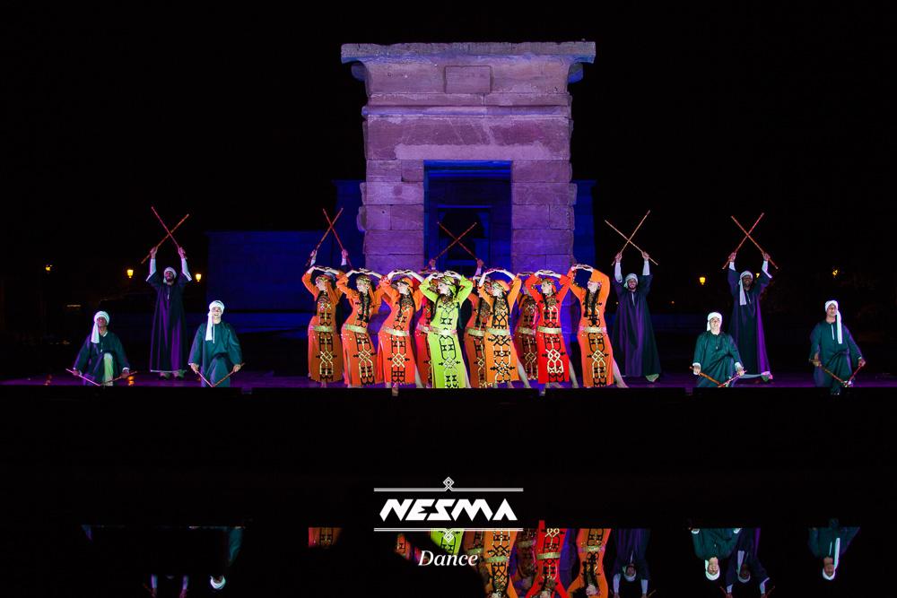 Nesma Al-Andalus Danza mahmoud reda templo de debod 2014