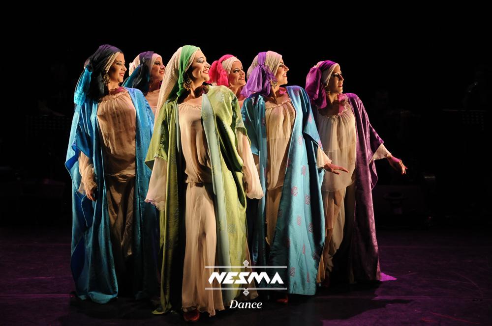 Nesma Al-Andalus Danza muwashahat andalusi 2016