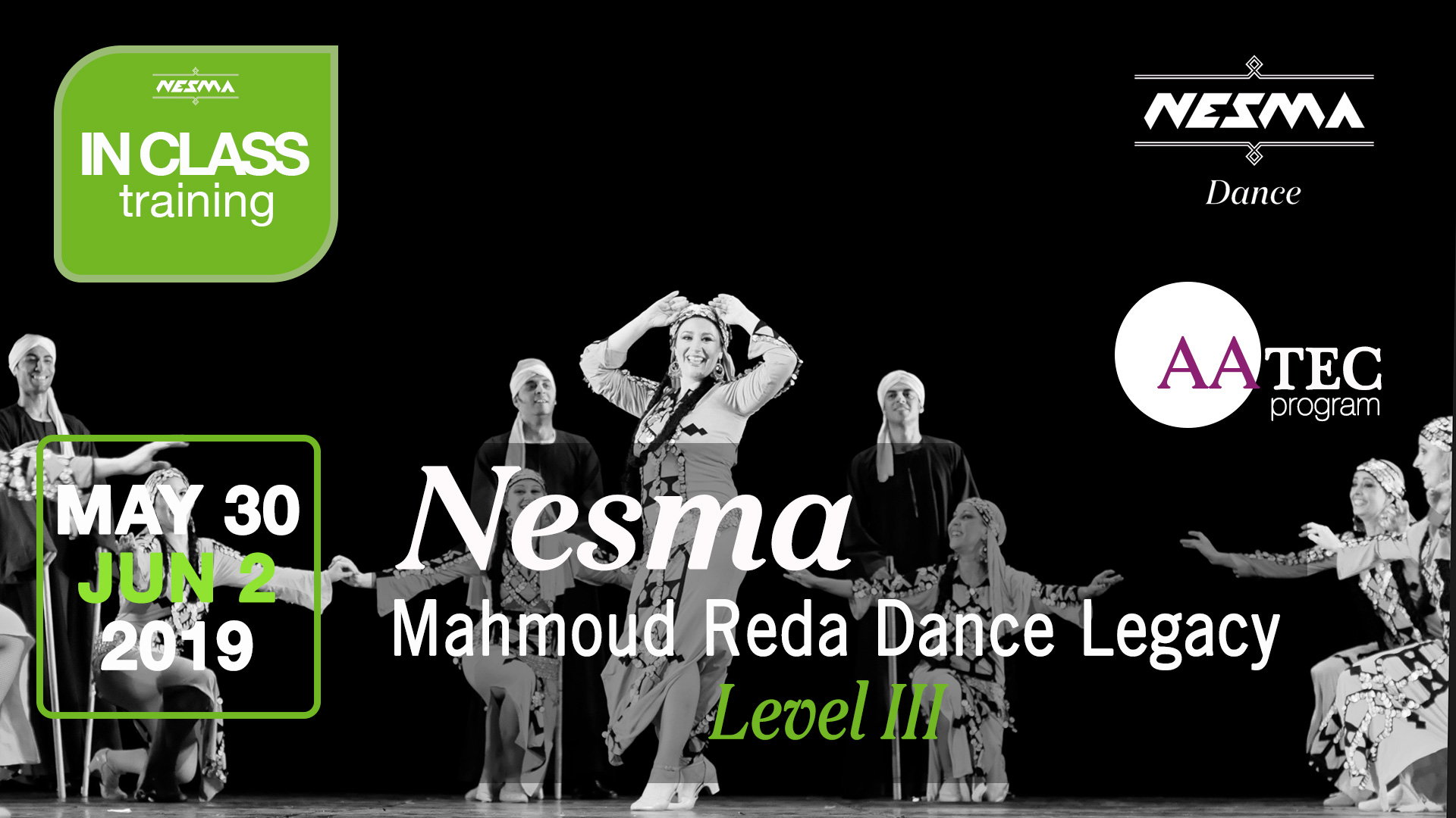 Nesma Course Mahmoud Reda DAnce Legady Level 3