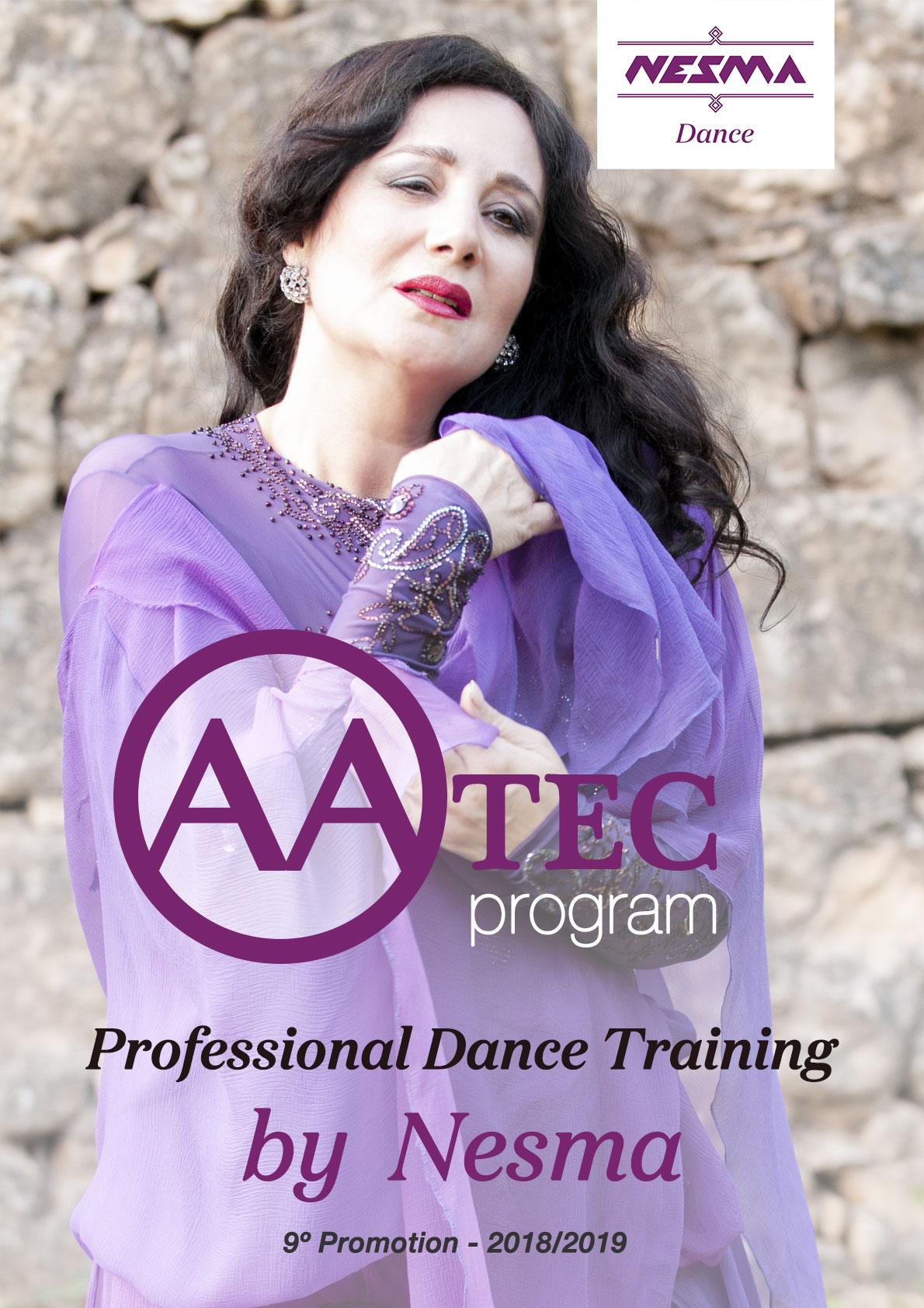 Nesma professional training oriental dance egyptian folklore neoandalusi bellydance